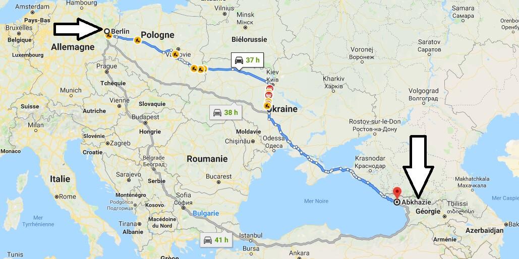 Wo liegt Abchasien? Wo ist Abchasien? in welchem Land? Welcher Kontinent ist Abchasien?