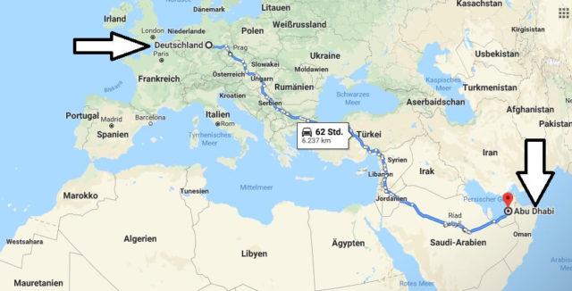 Wo liegt Abu Dhabi? Wo ist Abu Dhabi? in welchem Land? Welcher Kontinent ist Abu Dhabi?
