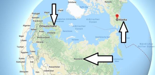 Wo liegt Alaska? Wo ist Alaska? in welchem Land? Welcher Kontinent ist Alaska?