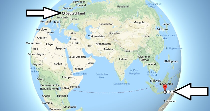 Wo liegt Bali? in welchem Land? Welcher Kontinent ist Bali? Wo ist Bali?