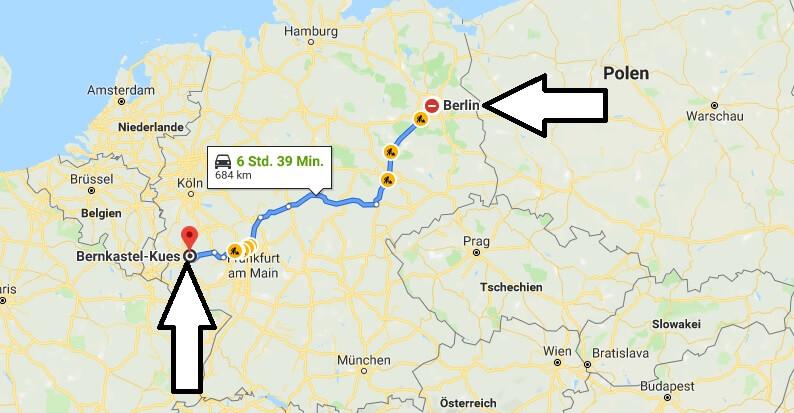 Wo liegt Bernkastel-Kues? Wo ist Bernkastel-Kues? in welchem Land? Welcher Kontinent ist Bernkastel-Kues?