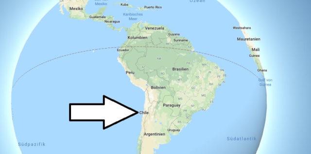 Wo liegt Chile? Wo ist Chile? in welchem Land? Welcher Kontinent ist Chile?