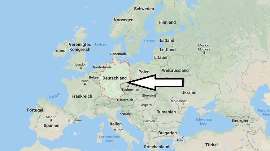 Wo liegt Deutschland? Wo ist Deutschland? in welchem Land? Welcher Kontinent ist Deutschland?
