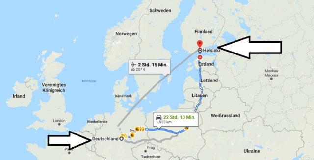 Wo liegt Helsinki? Wo ist Helsinki? in welchem Land? Welcher Kontinent ist Helsinki?