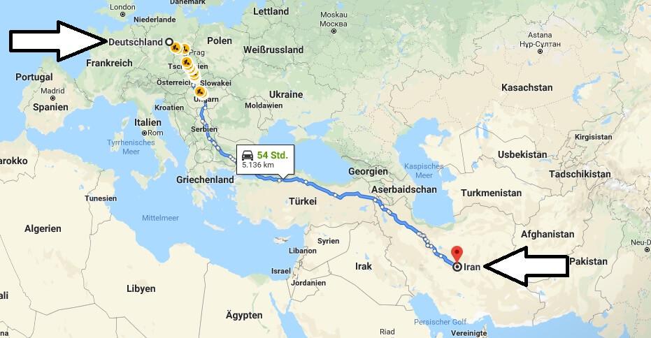 Wo liegt Iran? Wo ist Iran? in welchem Land? Welcher Kontinent ist Iran?
