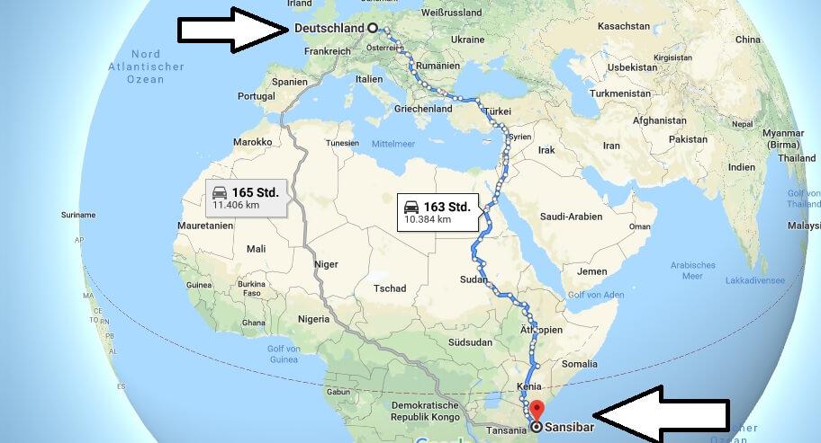 Wo liegt Sansibar? in welchem Land? Welcher Kontinent ist Sansibar? Wo ist Sansibar?