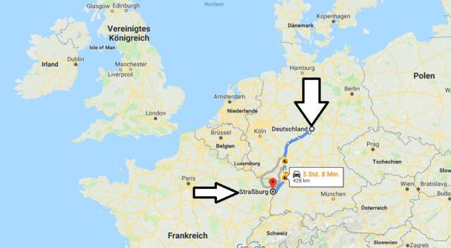 Wo liegt Straßburg? Wo ist Straßburg? in welchem Land? Welcher Kontinent ist Straßburg?