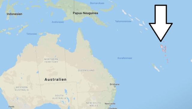 Wo liegt Vanuatu? Wo ist Vanuatu? in welchem Land? Welcher Kontinent ist Vanuatu?