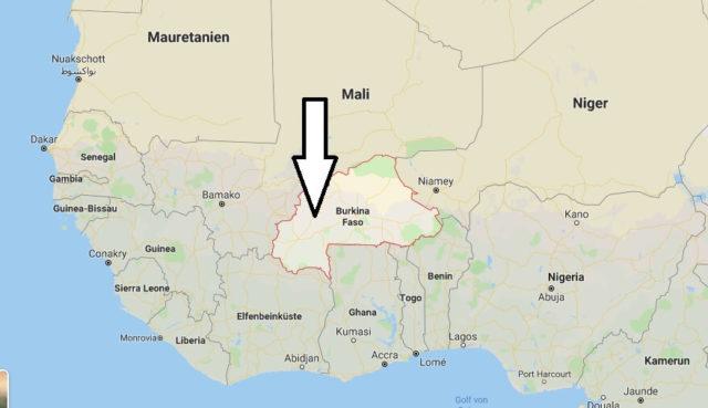 Wo liegt Burkina Faso? Wo ist Burkina Faso? in welchem Land? Welcher Kontinent ist Burkina Faso?