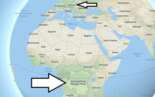 Wo liegt Demokratische Republik Kongo? Wo ist Demokratische Republik Kongo? in welchem Land? Welcher Kontinent ist Demokratische Republik Kongo?