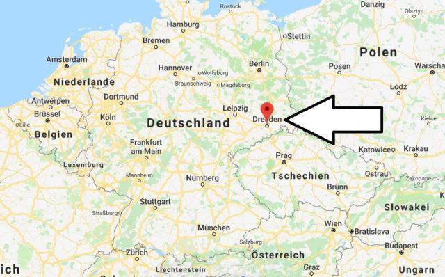 Wo liegt Dresden? Wo ist Dresden? in welchem Land? Welcher Kontinent ist Dresden?