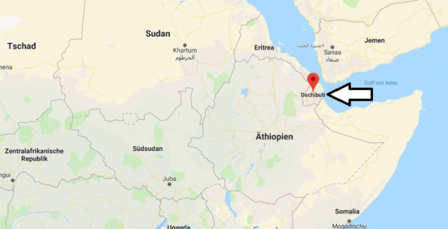 Wo liegt Dschibuti? Wo ist Dschibuti? in welchem Land? Welcher Kontinent ist Dschibuti?