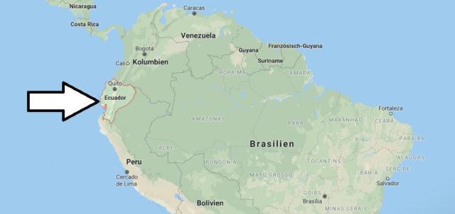Wo liegt Ecuador? Wo ist Ecuador? in welchem Land? Welcher Kontinent ist Ecuador?
