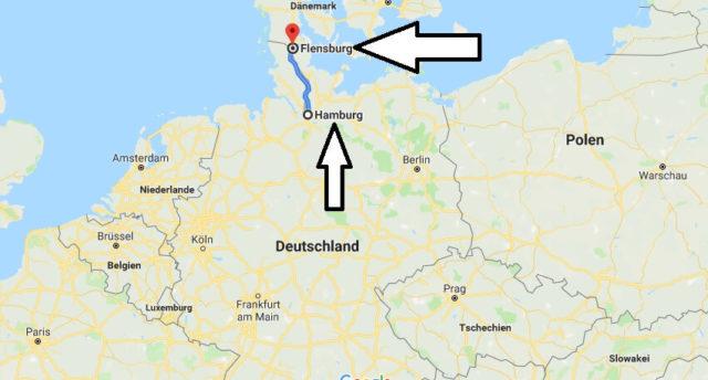 Wo liegt Flensburg? Wo ist Flensburg? in welchem Land? Welcher Kontinent ist Flensburg?
