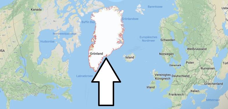 Wo liegt Grönland? Wo ist Grönland? in welchem Land? Welcher Kontinent ist Grönland?