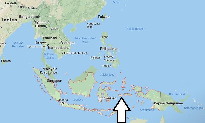 Wo liegt Indonesien? Wo ist Indonesien? in welchem Land? Welcher Kontinent ist Indonesien?
