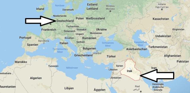 Wo liegt Irak? Wo ist Irak? in welchem Land? Welcher Kontinent ist Irak?