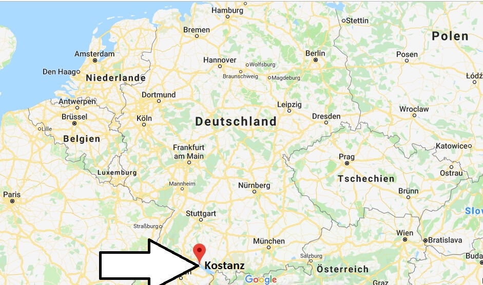Wo liegt Konstanz? Wo ist Konstanz? in welchem Land? Welcher Kontinent ist Konstanz?