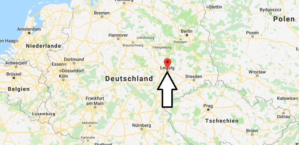 Wo liegt Leipzig? Wo ist Leipzig? in welchem Land? Welcher Kontinent ist Leipzig?