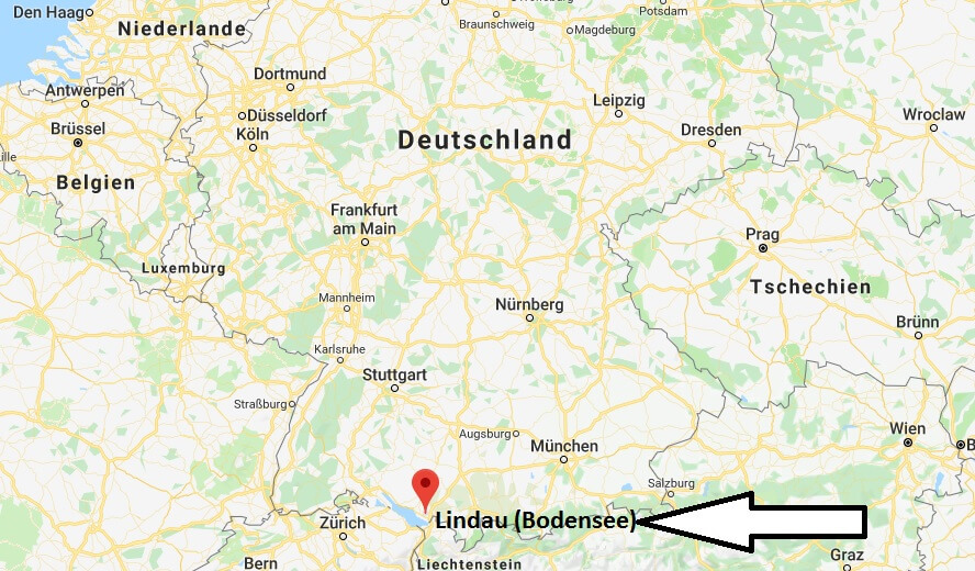 Wo liegt Lindau? Wo ist Lindau? in welchem Land? Welcher Kontinent ist Lindau?