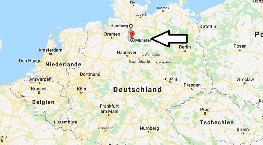 Wo liegt Münster? Wo ist Münster? in welchem Land? Welcher Kontinent ist Münster?