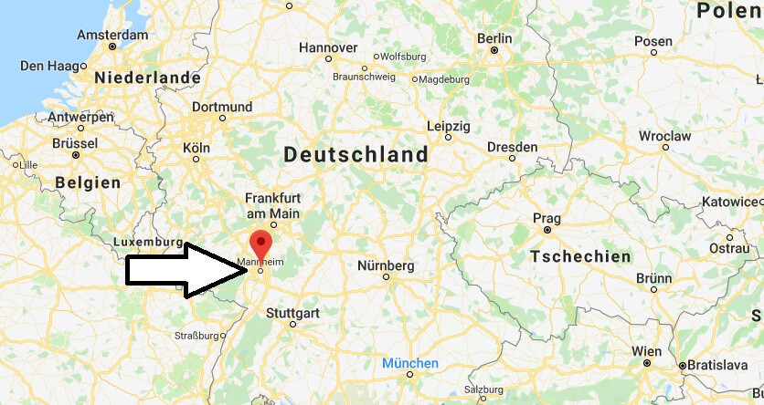 Wo Liegt Mannheim Wo Ist Mannheim In Welchem Land Welcher