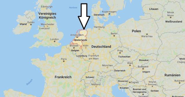 Wo liegt Niederlande? Wo ist Niederlande? in welchem Land? Welcher Kontinent ist Niederlande?