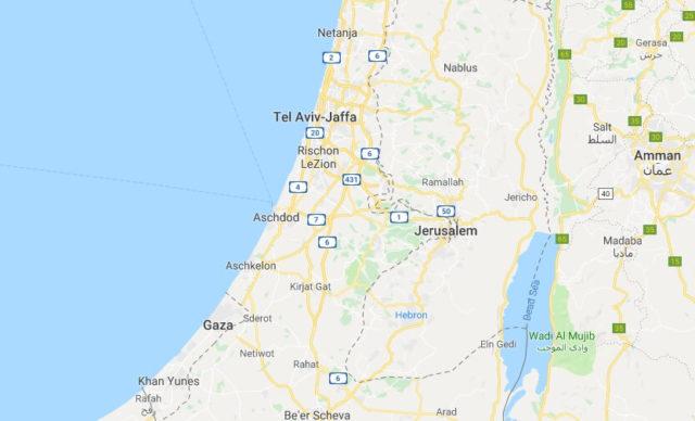 Wo liegt Palästina? Wo ist Palästina? in welchem Land? Welcher Kontinent ist Palästina?