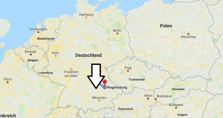 Wo liegt Regensburg? Wo ist Regensburg? in welchem Land? Welcher Kontinent ist Regensburg?