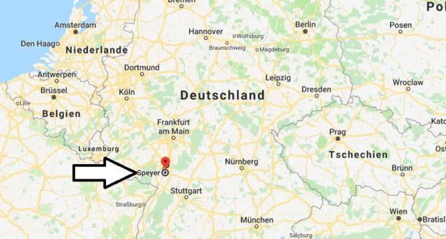 Wo liegt Speyer? Wo ist Speyer? in welchem Land? Welcher Kontinent ist Speyer?