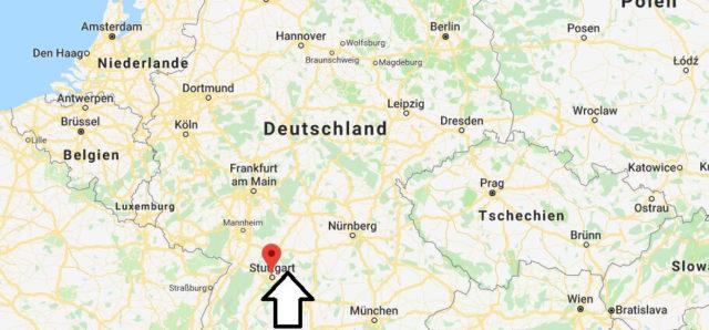Wo liegt Stuttgart? Wo ist Stuttgart? in welchem Land? Welcher Kontinent ist Stuttgart?