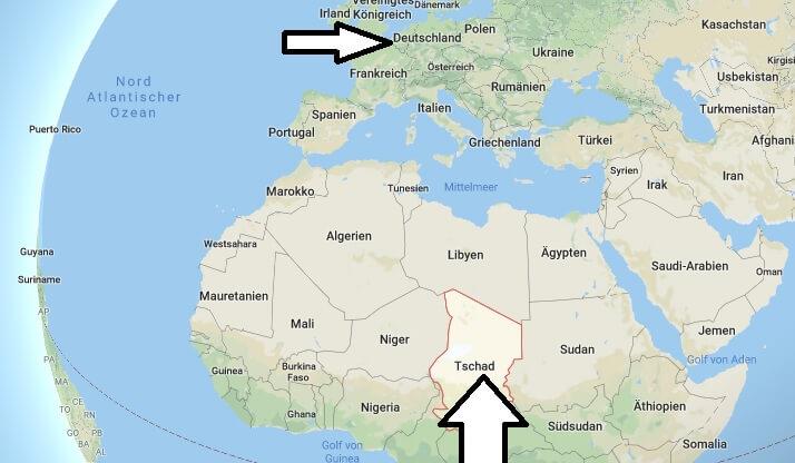 Wo liegt Tschad? Wo ist Tschad? in welchem Land? Welcher Kontinent ist Tschad?