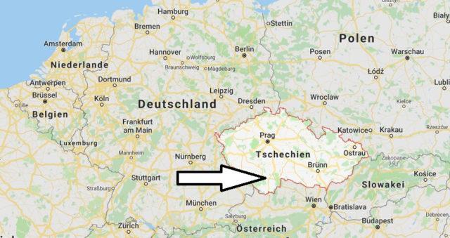 Wo liegt Tschechien? Wo ist Tschechien? in welchem Land? Welcher Kontinent ist Tschechien?
