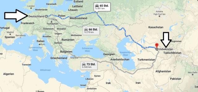 Wo liegt Usbekistan? Wo ist Usbekistan? in welchem Land? Welcher Kontinent ist Usbekistan?