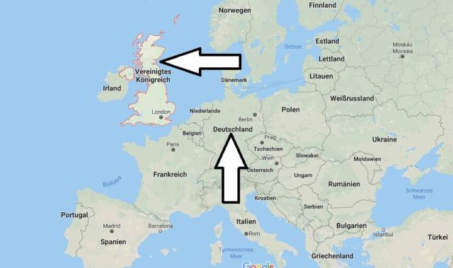 Wo liegt Vereinigtes Königreich - Wo ist Vereinigtes Königreich - in welchem Land - Welcher Kontinent ist Vereinigtes Königreich