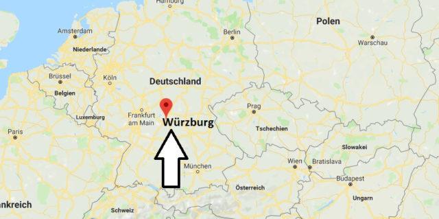 Wo liegt Würzburg? Wo ist Würzburg? in welchem Land? Welcher Kontinent ist Würzburg?