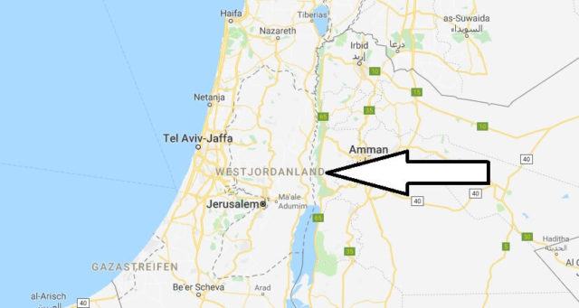 Wo liegt Westjordanland? Wo ist Westjordanland? in welchem Land? Welcher Kontinent ist Westjordanland?