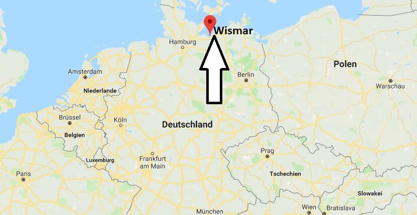 Wo liegt Wismar? Wo ist Wismar? in welchem Land? Welcher Kontinent ist Wismar?