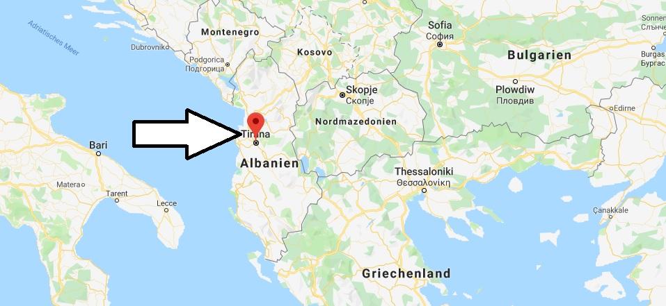 Was ist die Hauptstadt von Albanien