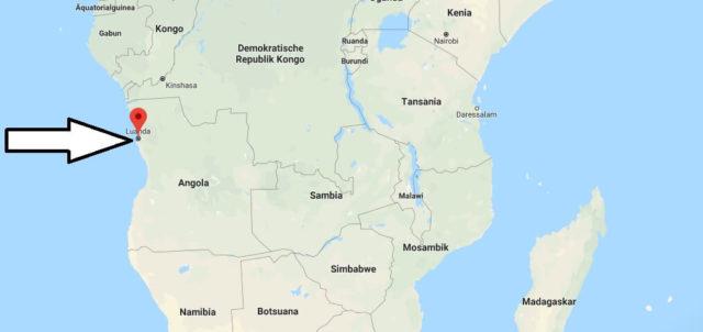 Was ist die Hauptstadt von Angola