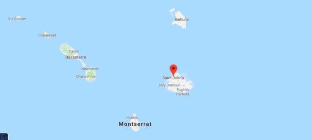 Was ist die Hauptstadt von Antigua und Barbuda