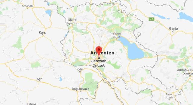 Was ist die Hauptstadt von Armenien