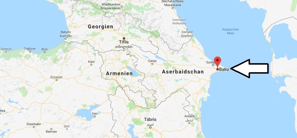 Was ist die Hauptstadt von Aserbaidschan