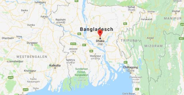 Was ist die Hauptstadt von Bangladesch