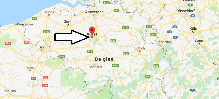 Was ist die Hauptstadt von Belgien