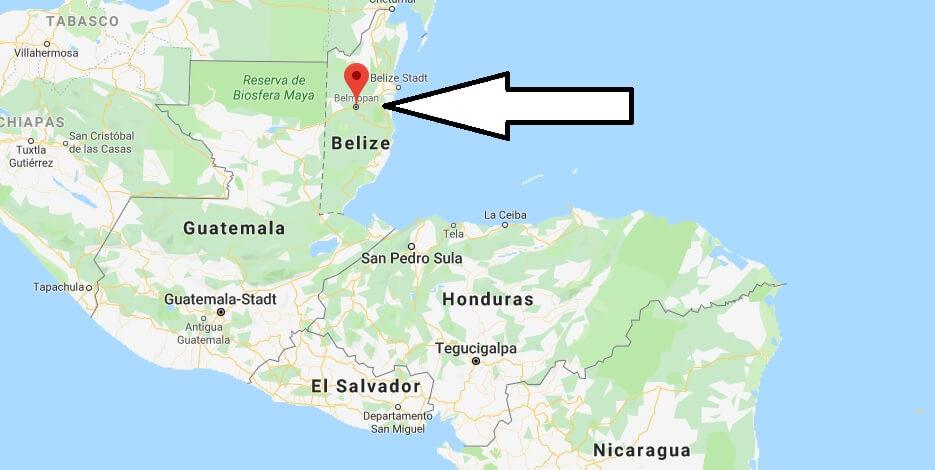 Was ist die Hauptstadt von Belize