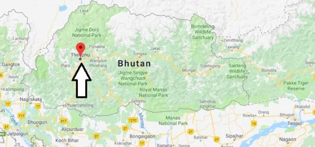 Was ist die Hauptstadt von Bhutan