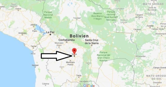 Was ist die Hauptstadt von Bolivien