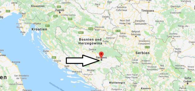 Was ist die Hauptstadt von Bosnien und Herzegowina