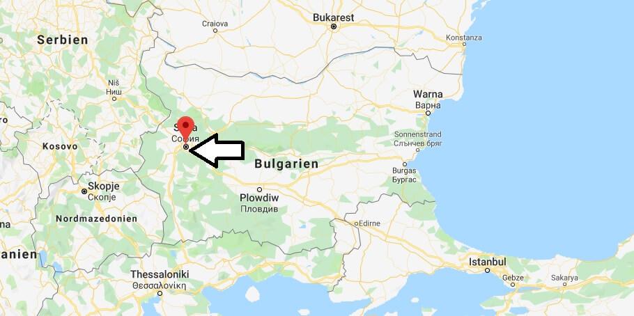 Was ist die Hauptstadt von Bulgarien